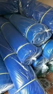 Lưới chắn bụi màu xanh dương dày