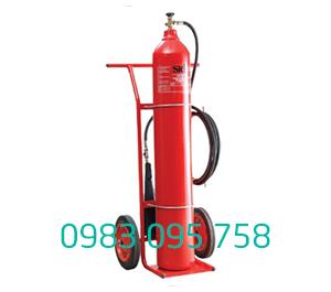 Bình chữa cháy xe đẩy C02 MT24