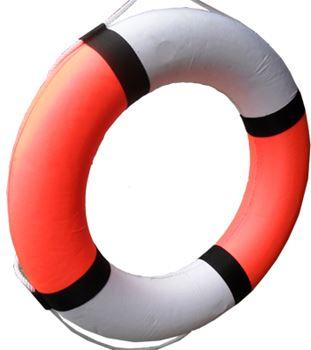 Phao bơi cứu sinh xốp trắng đỏ giá rẻ tại BHLĐ Hải Thanh