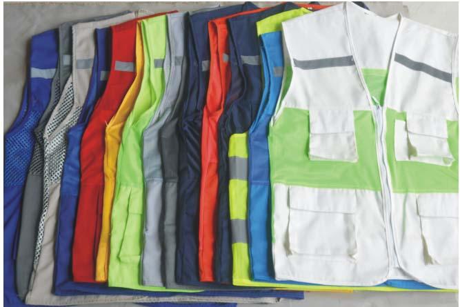 Áo gile túi hộp phản quang nhiều màu giá buôn rẻ nhất Việt Nam