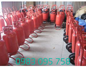 Bình bột chữa cháy loại xe MT35 bột BC