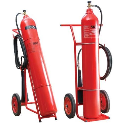 Bình chữa cháy xe đẩy khí CO2 giá rẻ tại BHLD Hải Thanh