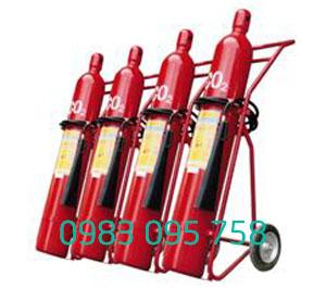 Bình chữa cháy xe đẩy khí CO2