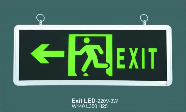 Đèn Exit thoát hiểm PEXA13SW-EM601 giá rẻ nhất Việt Nam tại Bảo hộ lao động Hải Thanh