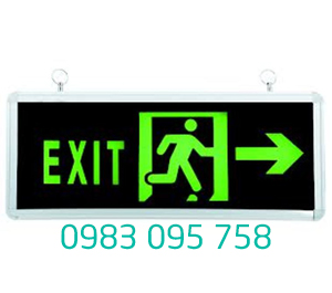 Đèn Exit thoát hiểm PEXA13SW-EM601