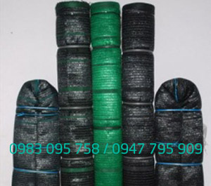 Lưới che nắng màu xanh, đen công nghệ Thái Lan