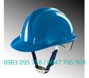 Mũ bảo hộ Thùy dương có núm vặn màu xanh