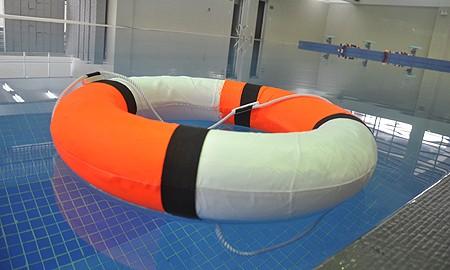 Phao bơi cứu sinh xốp trắng cam giá rẻ nhất tại Bảo hộ lao động Hải Thanh