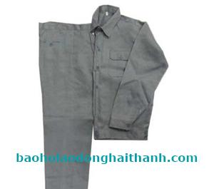 Quần áo bảo hộ vải kaki Nam Định loại 1