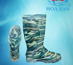Ủng rằn ri bảo hộ Hoa san