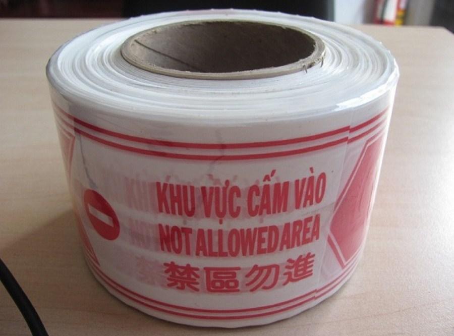 Cuộn rào nilong 1 lớp giá rẻ nhất Việt Nam tại Bảo hộ lao động Hải Thanh