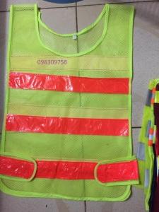 Áo lưới có may phản quang trước ngực và sau lưng giá rẻ tại Hải Thanh
