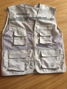 Áo gile 4 túi hộp, dùng cho kỹ sư