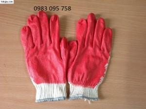 Găng tay sơn đỏ