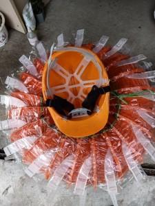 Mũ nhựa bảo hộ quai trong